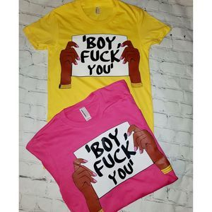 Boy F*ck you tee
